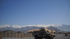 From the Back of My MRAP I See