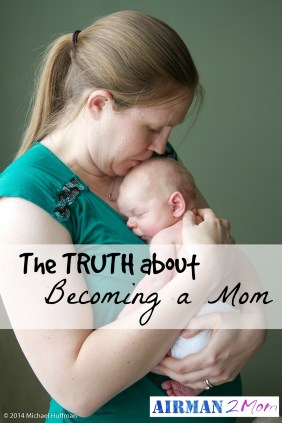 The truth about becoming a mom. Tuesday at 10: Truth