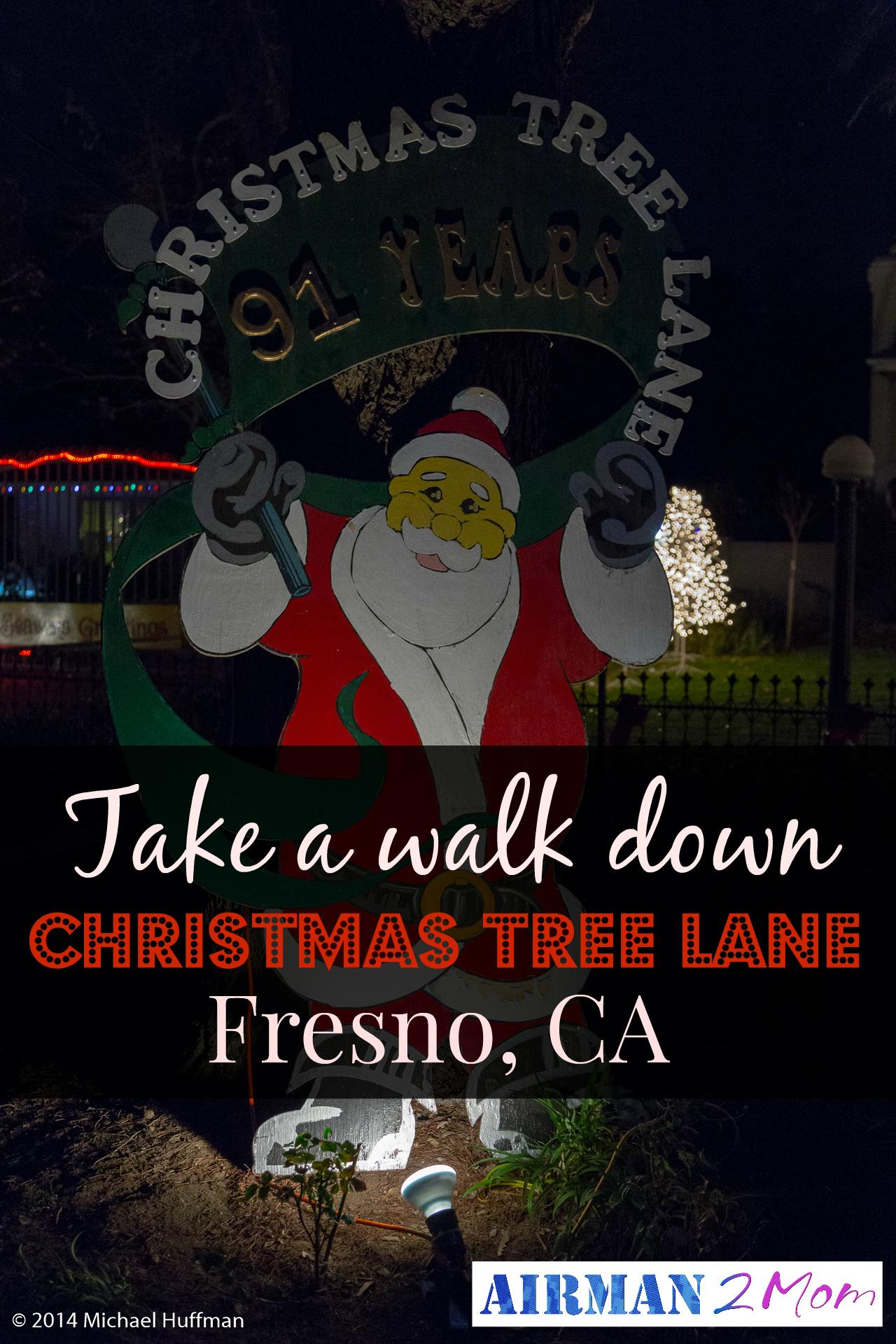Christmas Tree Lane - Airman to Mom