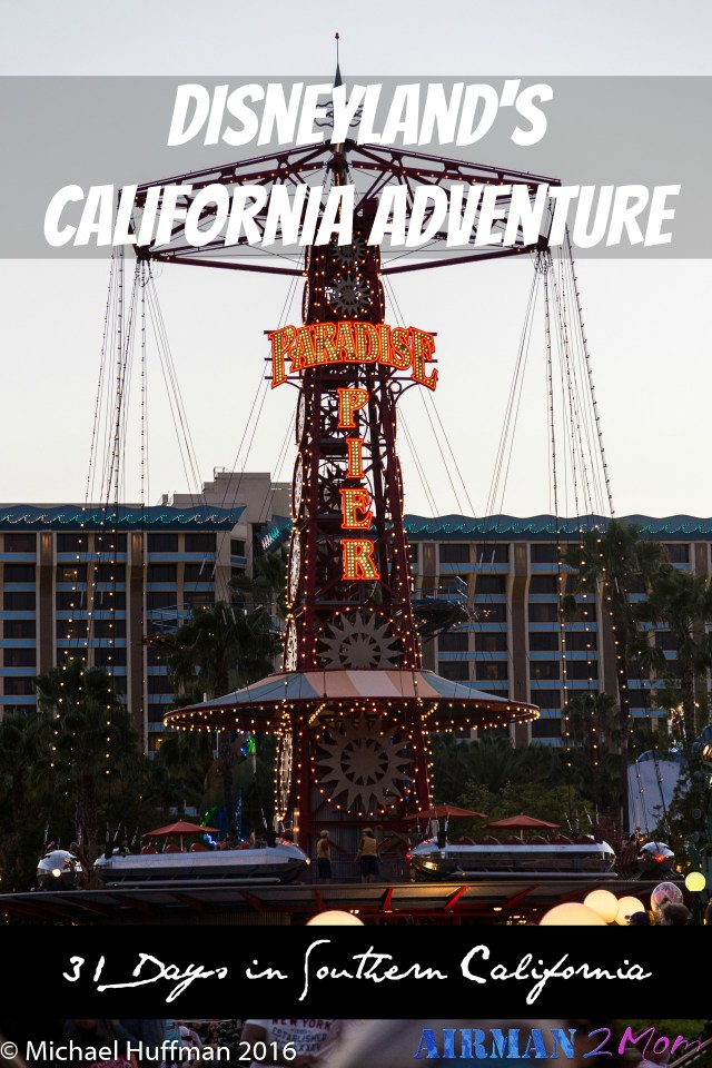California Adventure is so much fun and has some of my favorite rides