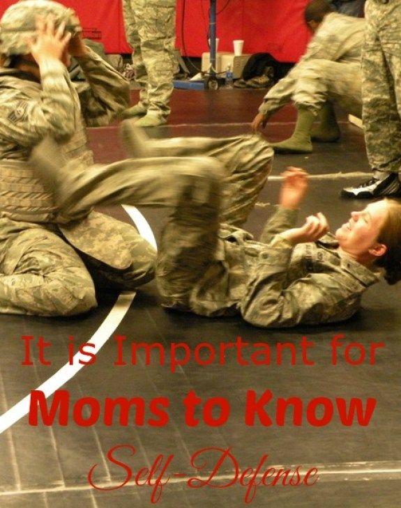 It is important for moms to know self-defense