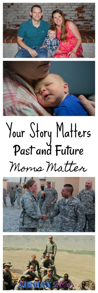 Do you remember who you used to be before you became a mom. Sometimes we lose ourselves in motherhood and think our past doesn't matter, but your story matters.