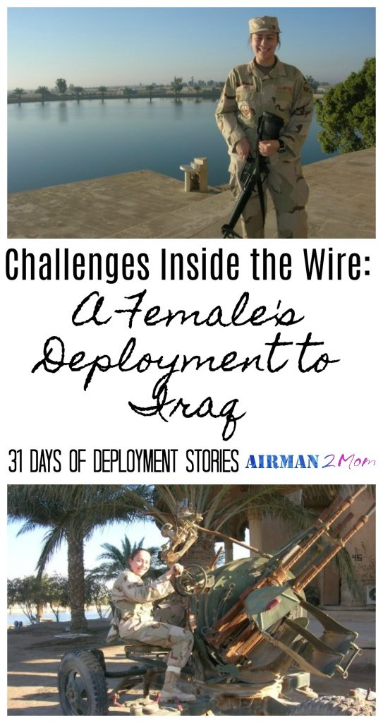 What is it like to be on an army base in Iraq as a female. Read Esmerald's whole story as part of 31 Days of Deployment Stories