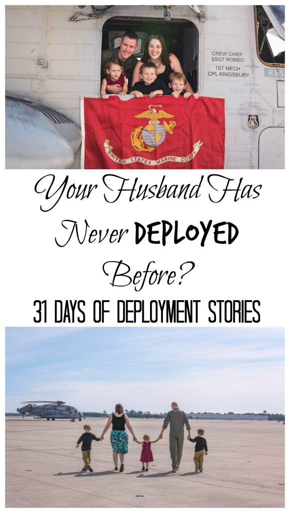 Just because your husband doesn't deploy doesn't mean they are always home. Hear Laura's story as a miltary spouse who's husband is gone regularly, but has never actually deployed.
