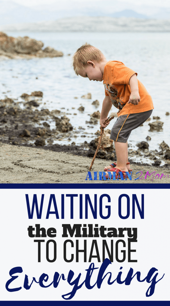 The military has this window of time while you are waiting on the military, waiting for an assignment. At some points in your career there are things you can do to help direct where you go. At other points, you are sitting and waiting on the military to make its move. You fill out the dream sheet or you do the networking and then you wait and try not to dream. #pcsseason #limbo #militarylife