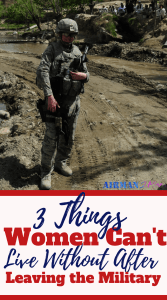 What three things do you need to successfully transition out of the military? It is really easy. Add some self love, new clothes and a support group and you are on your way. Read the whole story here. #femaleveteran #leavingthemilitary #womenofthemiltiary