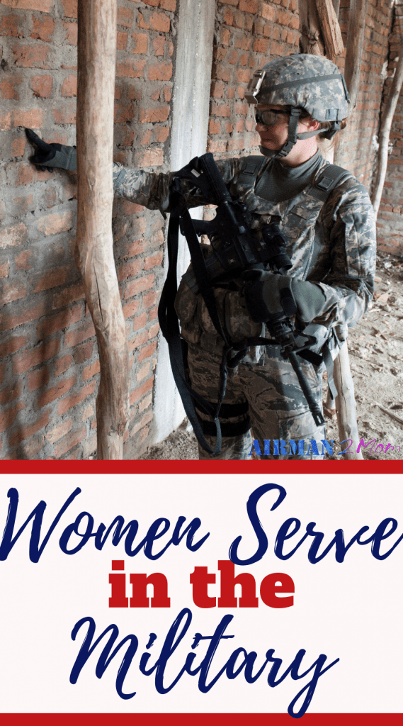 Women serve in the military. Many times husbands are thanked for the service a military families make, but husbands are not the only ones who serve. And we need to start sharing our stories of military service. #womeninthemilitary #militaryservice #veteransday #femaleveteran