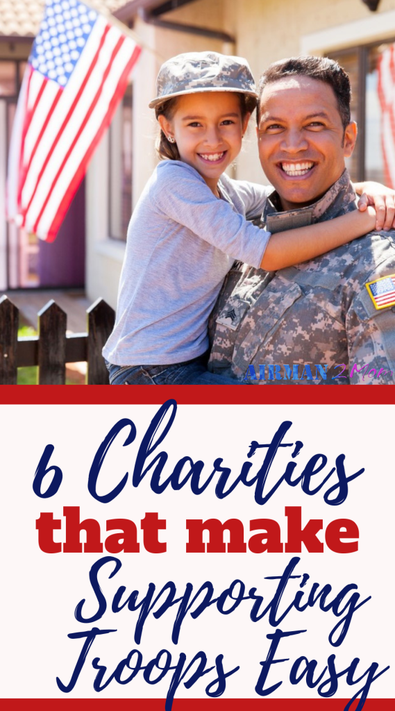 Do you want to support veterans? But you don't know what organizations are out there to help veterans and service members? Check out these 6 organizations that help veterans and service members. #military #veteran #charity