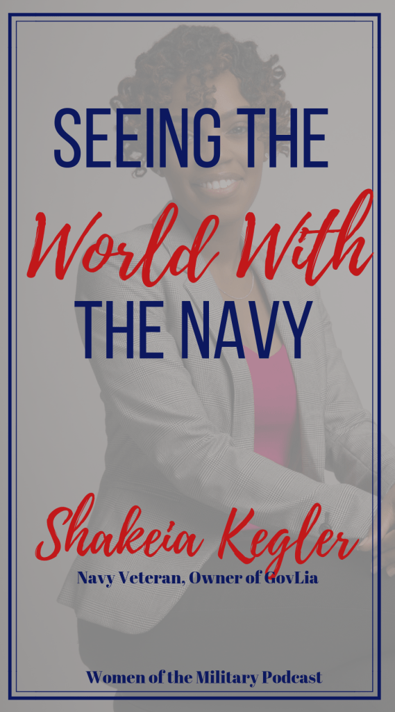 In today's episode I interviewed Shakeia Kegler. Shakeia joined the Navy in 2011 and was sent to Japan for her first assignment. The day she landed in Japan she learned her ship the USS George Washington was about to head out for a six month deployment. She quickly found her sea legs as she headed out to sea. With a deployment rotation of six months deployed and six months home the three years she spent in Japan were an adventure. #navy #femaleveteran
