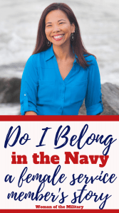 Mandy was accepted and attended the Naval Academy. She served in the military (10 years on active duty and 10 years in the Reserves) for a total of twenty years before retiring as a Lt Commander. While attending the Naval Academy, Mandy was told that she didn't deserve her spot at the Academy. She was told that she was an example of why women shouldn't serve in the military. As a Ensign,she became a mom and faced complications due to being both single mom and serving in the military. Despite facing these challenges in her early career, she was able to serve in the military and retire as a Lt Commander. #navy #femaleveteran #militarystory #womenofthemilitary