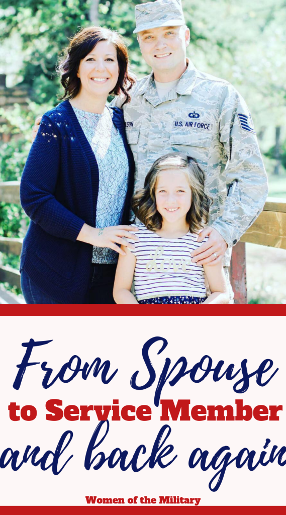 Alana knows what it is like to be both a military spouse and a service member. She started as a military spouse and then when she found herself at Mountain Home AFB she decided to join. She left the military after four years and became a mom. Her husband continues to serve in the military. Hear her story on Women of the Military Podcast
