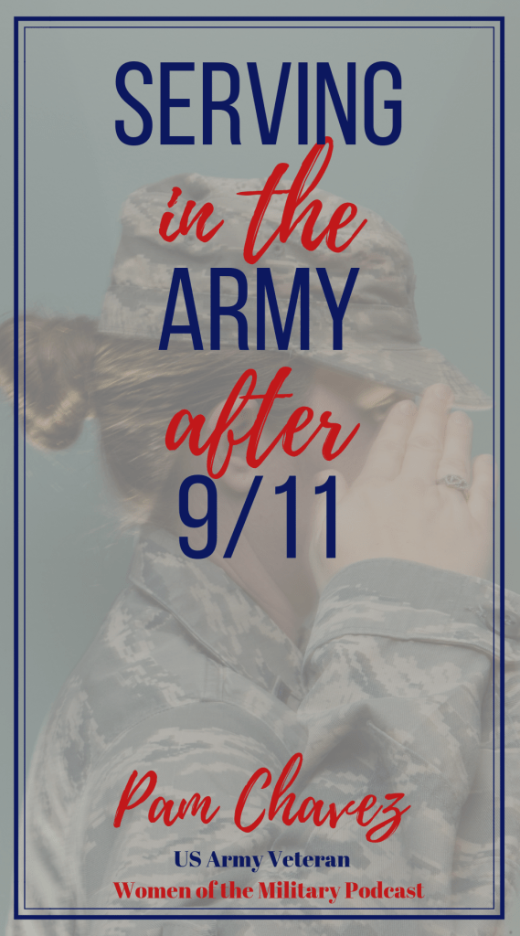 What is it like to join the Army when you they are at war. What is a deployment like? Hear Pam's story of serving in the Army and deploying to Iraq. #womenofthemilitary #veteran #militarywomen