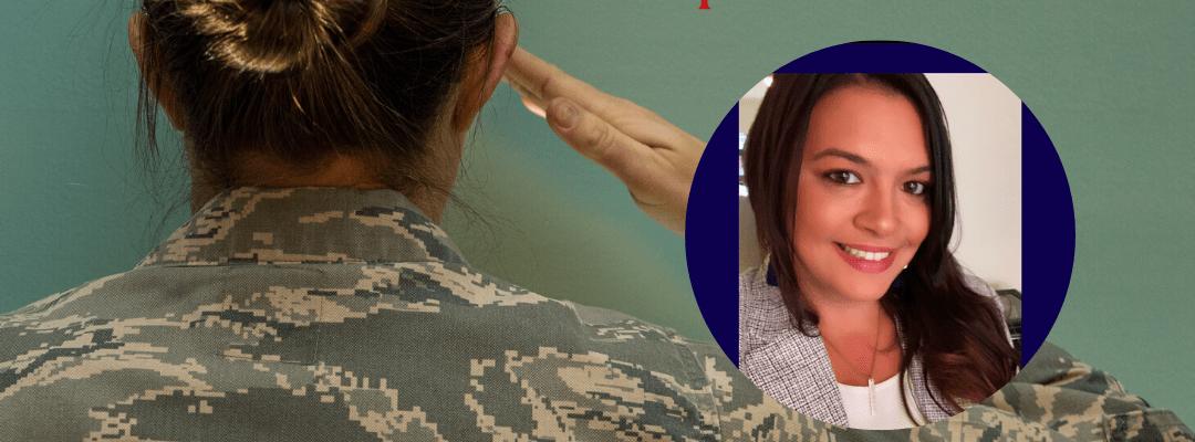 women who leave the military Destinee Prete
