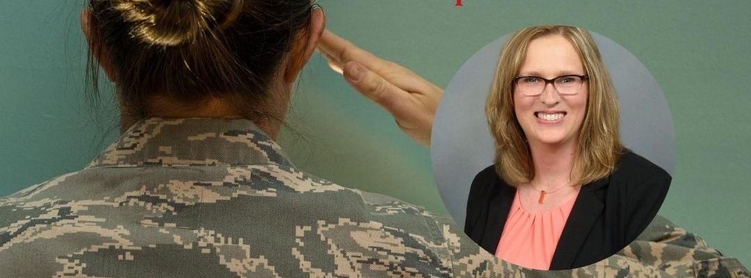 Women of the Military Episode 88 Charlene Wilde