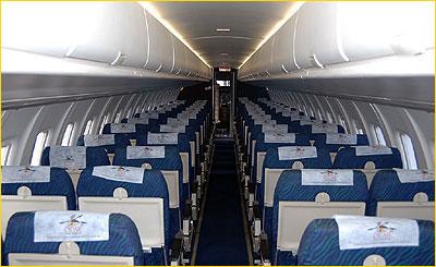 Charter flight with ATR42  AIRNETZ