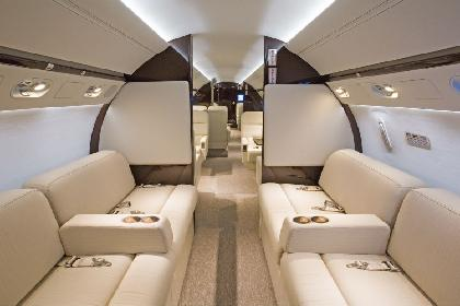 Charter flight with Gulfstream G550  AIRNETZ