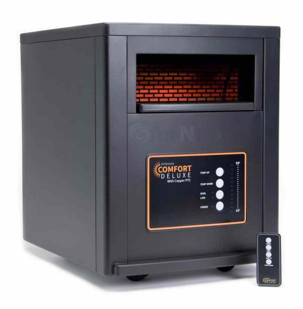 medium resolution of airnmore comfort deluxe infrared zone heater