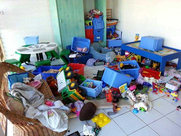 parents achète trop de jouet