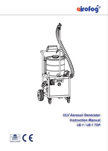 ULV Aerosol Generator UE1 Electrically-driven Airofog