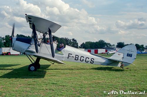 F-BGCS De Havilland DH82a Tiger Moth