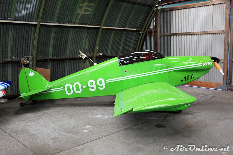 OO-99 Monnett Sonerai IIL, Zoersel (B), 4 juni 2011