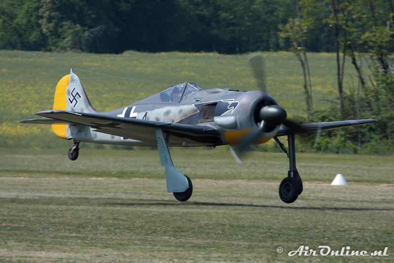 F-AZZJ Focke Wulf FW190 A-8/N, La Ferte Alais, 22 mei 2010