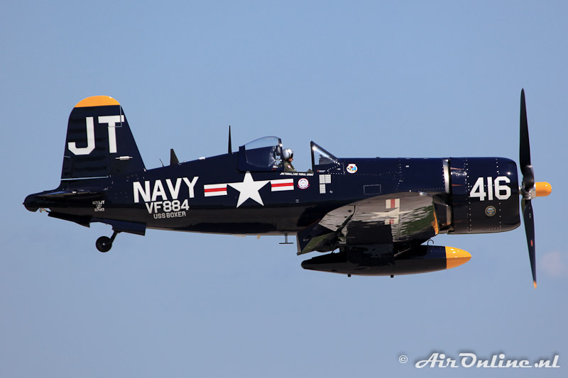 N713JT Chance Vought F4U-4 Corsair