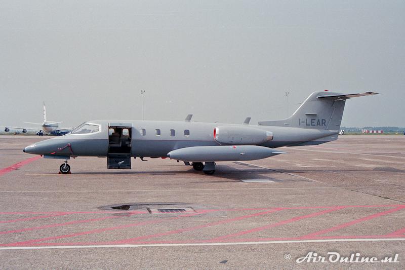 I-LEAR Learjet 25 Schiphol 1989