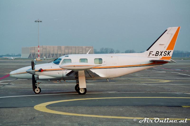 F-BXSK Piper PA-31T Cheyenne (Schiphol 1997)