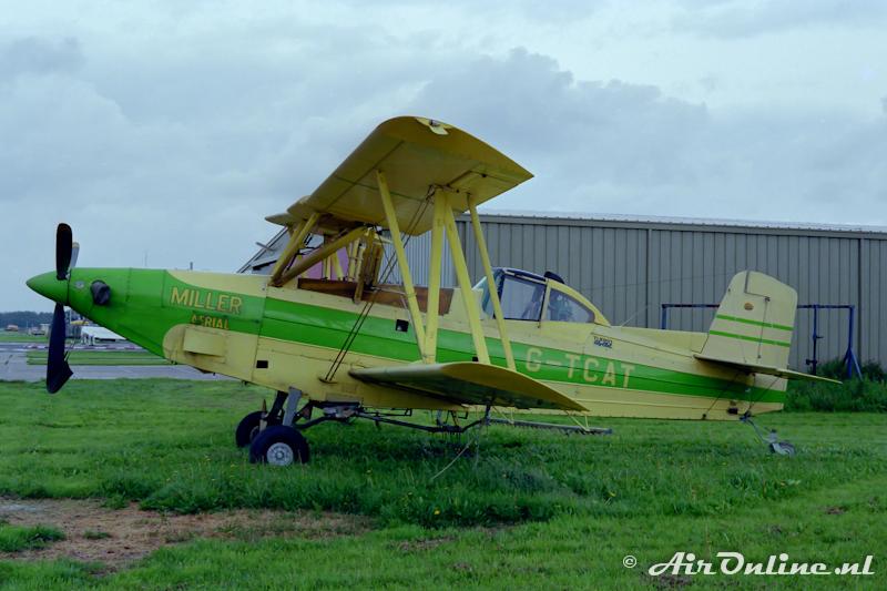 G-TCAT Grumman G-164d Turbo Agcat, Lelystad 1985