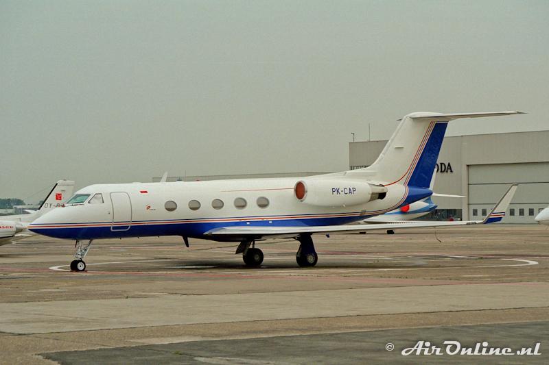 PK-GAP Gulfstream G1159A (Schiphol, 1997)