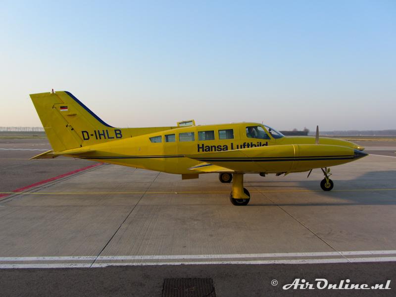 D-IHLB Cessna 402B Hansa Luftbild