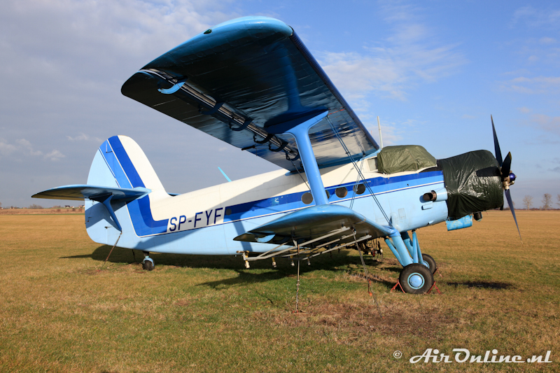 SP-FYF Antonov An-2P Colt (7 januari Szymanow)