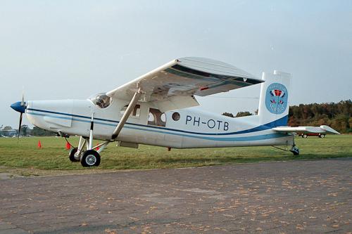PH-OTB Pilatus PC-6 Porter Icarus (Hilversum 1987)