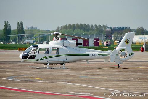 F-GHCK Aérospatiale SA 360C Dauphin (Schiphol, 1996)