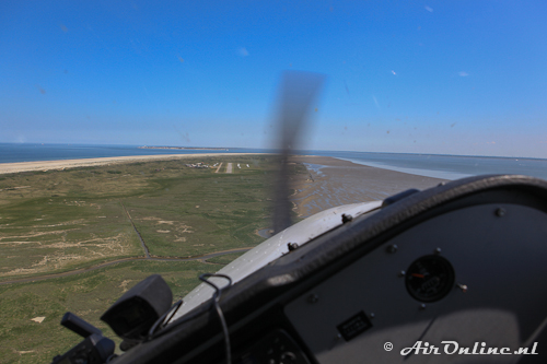 Turning final rwy 08 Juist