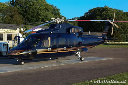 D-HMGX Sikorsky S-76C++ Chateau du Tertre