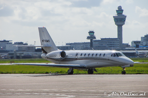 N710MS Cessna 680 Citation Sovereign
