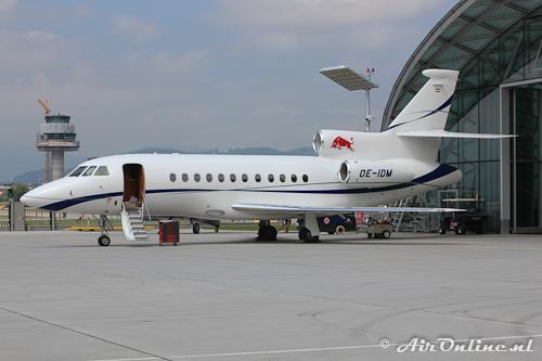 OE-IDM Dassault Falcon 900EX Flying Bulls