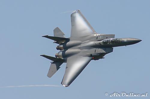 97-0218/LN McDonell Douglas F-15E 48 FW/492 FS USAF