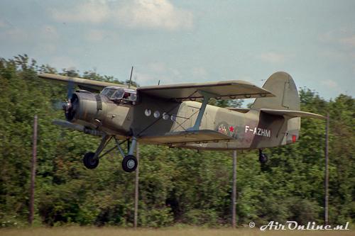 F-AZHM Antonov AN-2T (La Ferte Alais, 29 mei 1993)