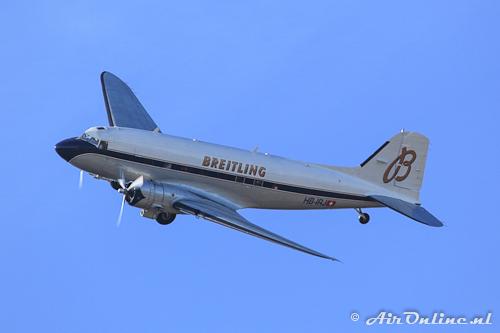 HB-IRJ Douglas DC-3A Dakota van Breitling