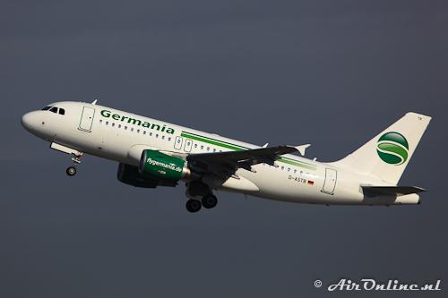 D-ASTB Airbus A319-112 4691 Germania Flug