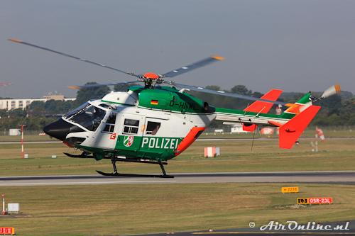 D-HNWL Eurocopter-Kawasaki BK-117C-1