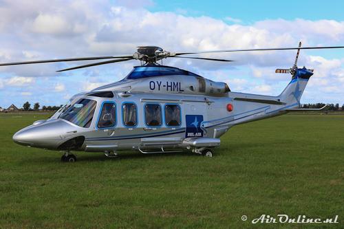 OY-HML Agusta-Westland AW139 Bel Air