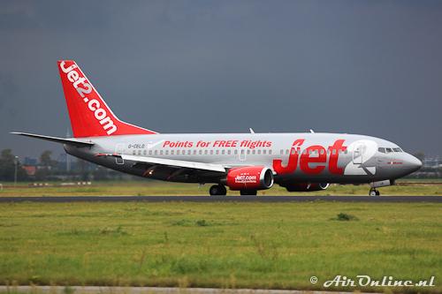 G-CELD Boeing 737-33A Jet2