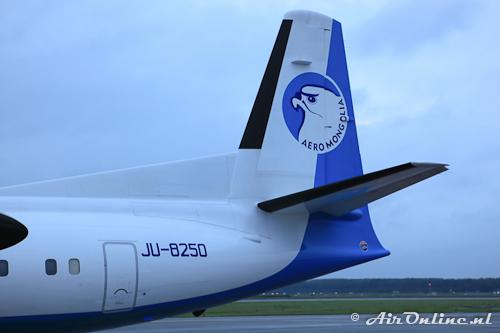 JU-8250 Fokker 50 Aero Mongolia