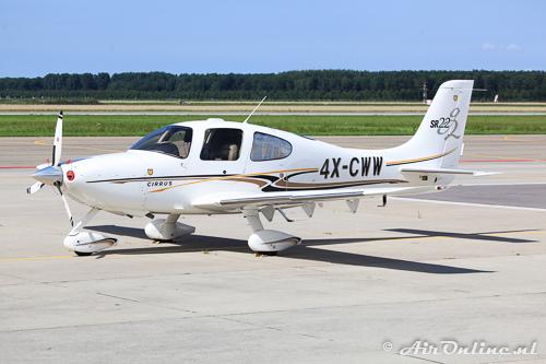4X-CWW Cirrus SR-22 G2