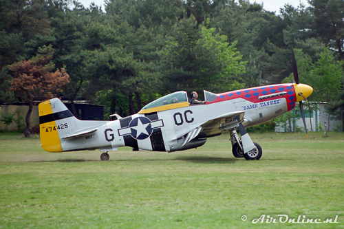 N11T / 474425 North American P-51D Mustang
