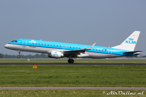 PH-EZF Embraer 190-100STD KLM CityHopper